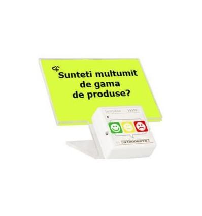Sistem evaluare feedback clienti SensMax Time Stamp